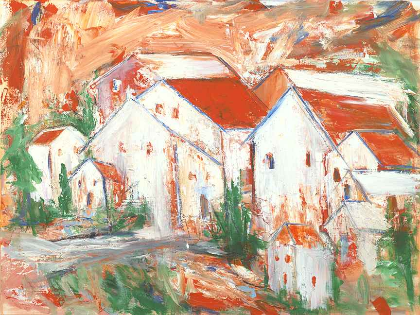 The Village #2 by  Steve Lyons - Masterpiece Online