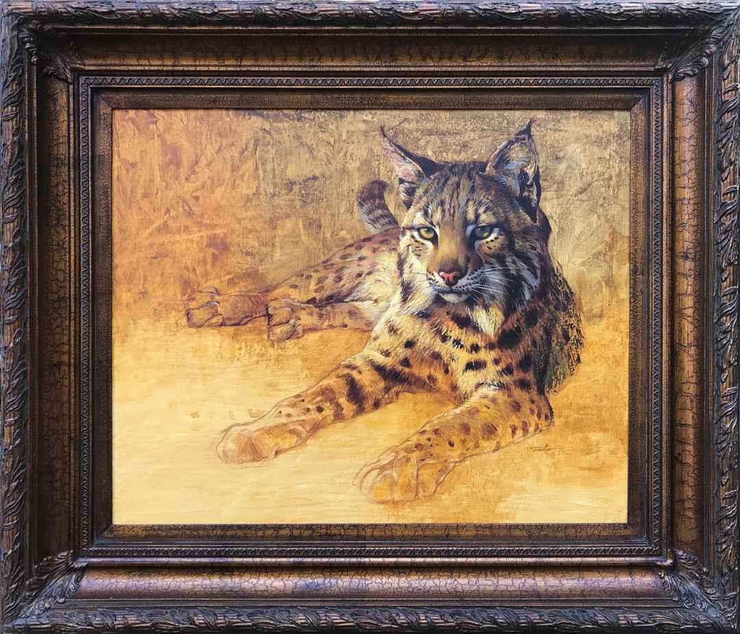 Mysterious (Bobcat) by  Ezra Tucker - Masterpiece Online