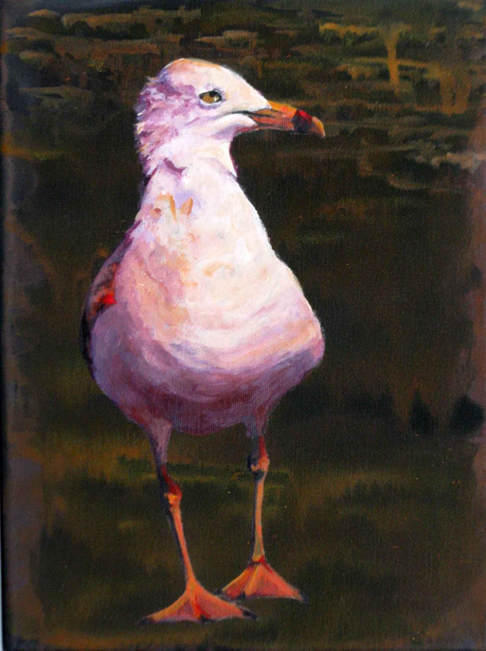 Gull at Dusk by  Pat Holscher - Masterpiece Online