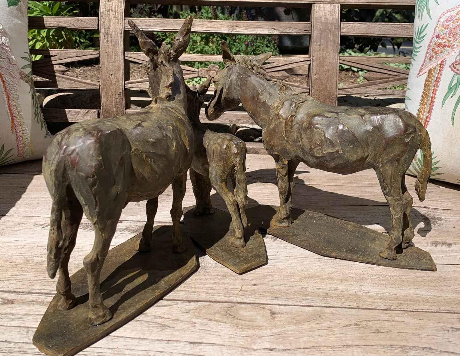 3 Burros (untitled) by Ms. Jane DeDecker - Masterpiece Online