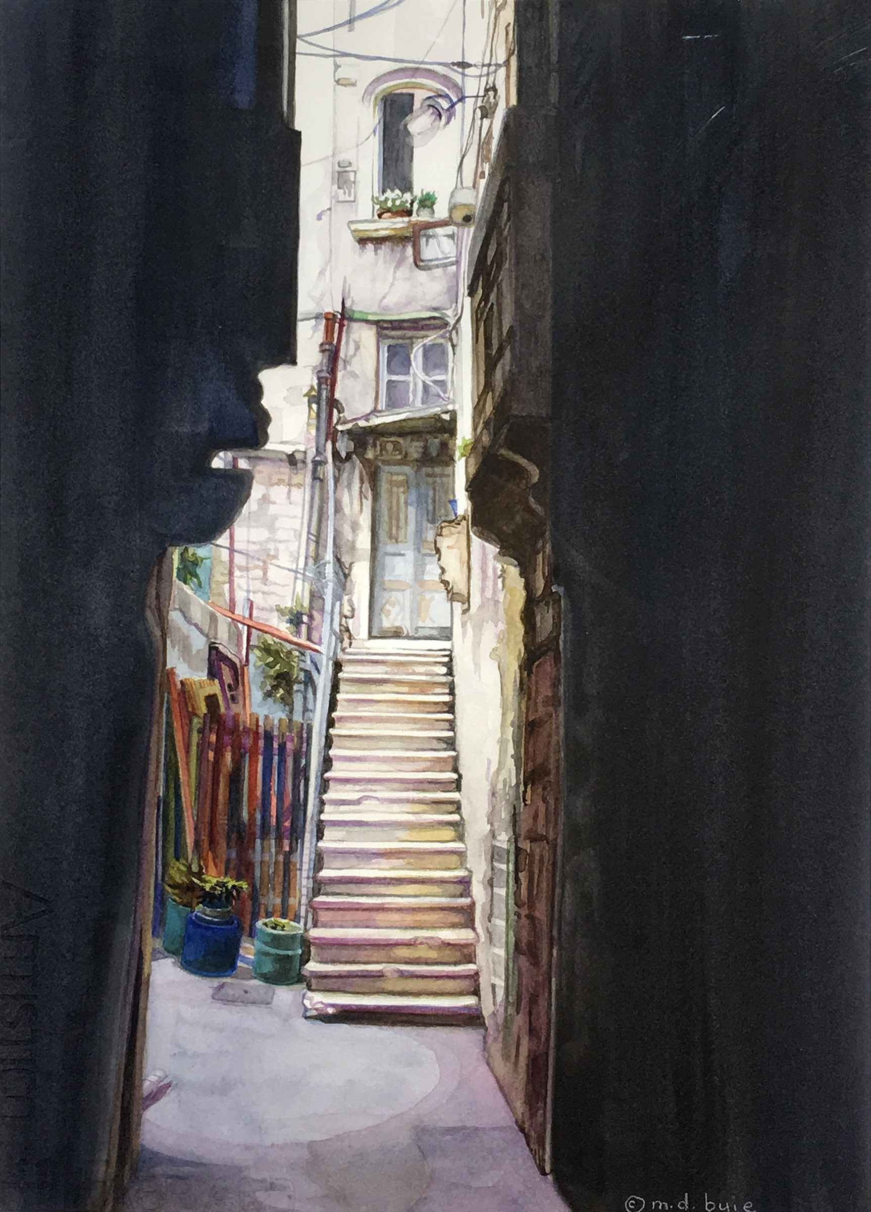 Split - View from Dio... by  Margaret Buie - Masterpiece Online