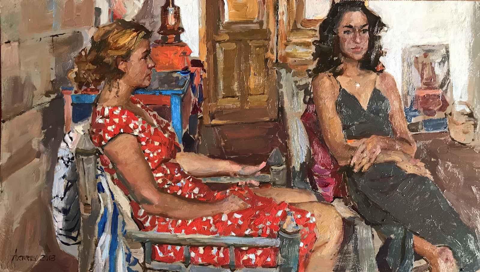 Companions by  Daud Akhriev - Masterpiece Online