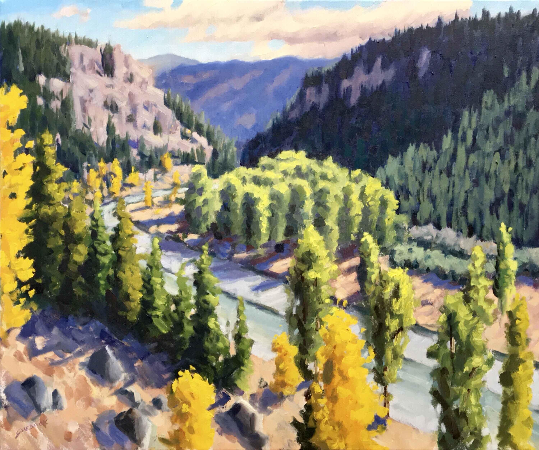 Tulameen by  Jessica Hedrick - Masterpiece Online
