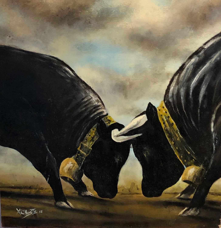 Combat de reines by  Xavier L'HOSTE - Masterpiece Online