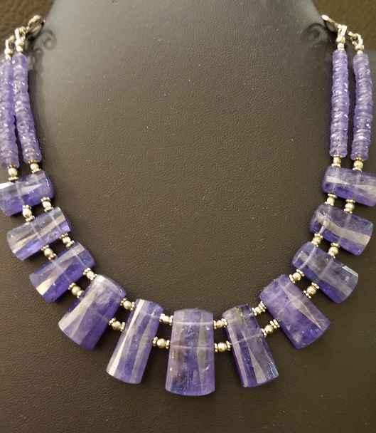 Tanzanite Collar, 11 ... by  Paula Nurse - Masterpiece Online