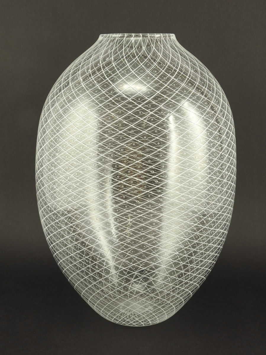 Reticello Vase/White by  Robert Dane - Masterpiece Online