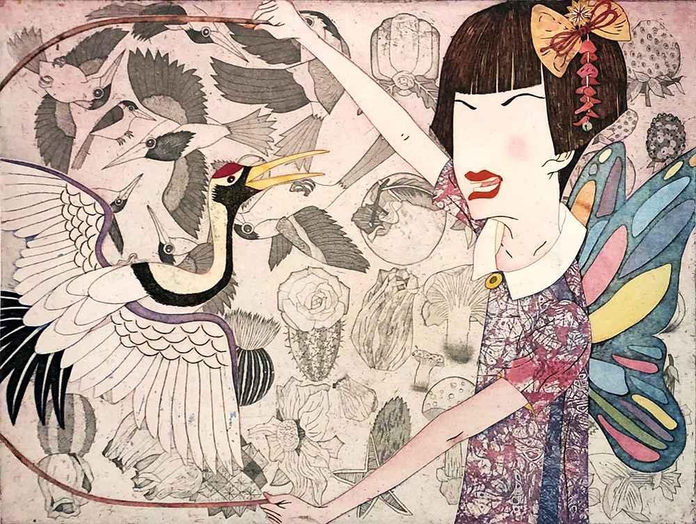 Retro Mode Joyful Mom... by  Yuji Hiratsuka - Masterpiece Online