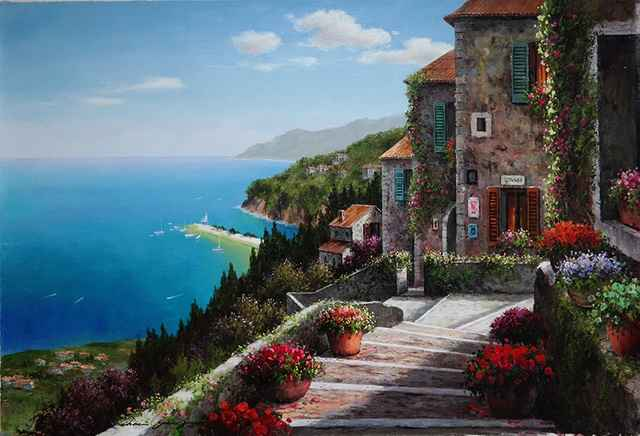 Above the Bay by  Soon Ju Choi  - Masterpiece Online