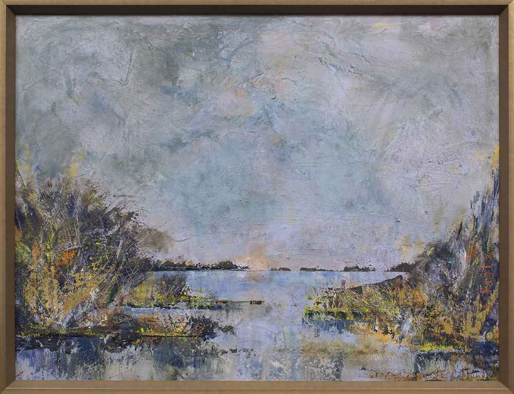 Rivers of Texas - Llano River by Julie Fritz