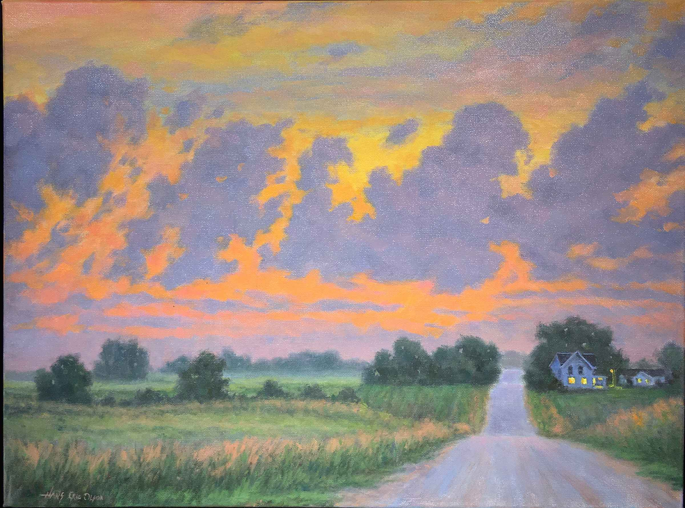 Dancing Clouds  by  Hans Olson