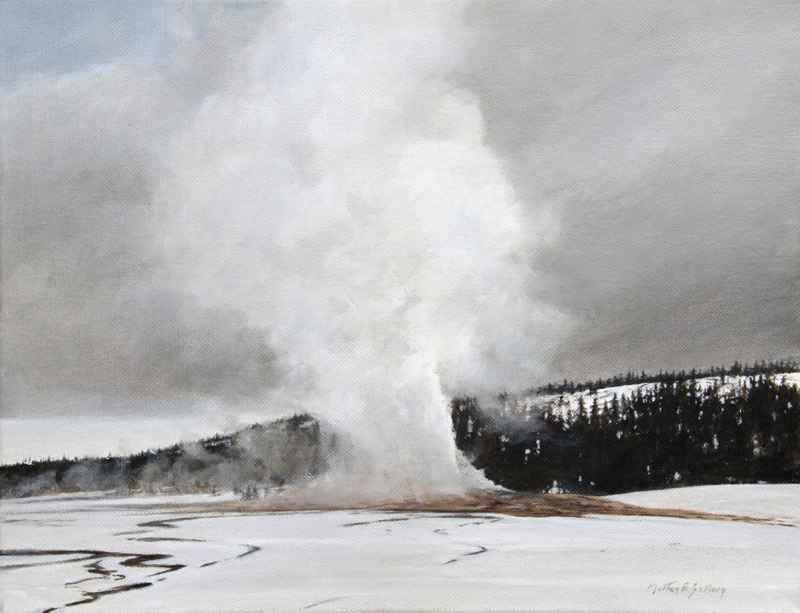 Old Faithful I by  Morten E. Solberg - Masterpiece Online