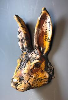 Rabbit Face, Orange
