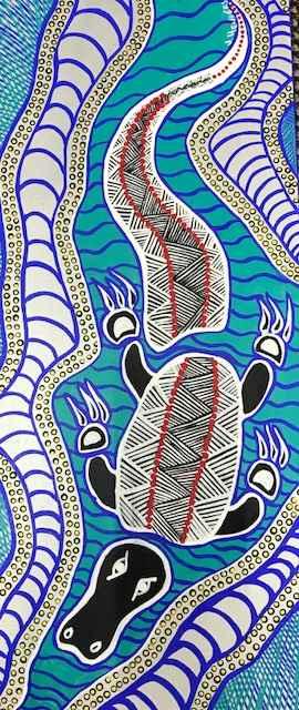 Croc by Mrs Joyce Henderson - Masterpiece Online