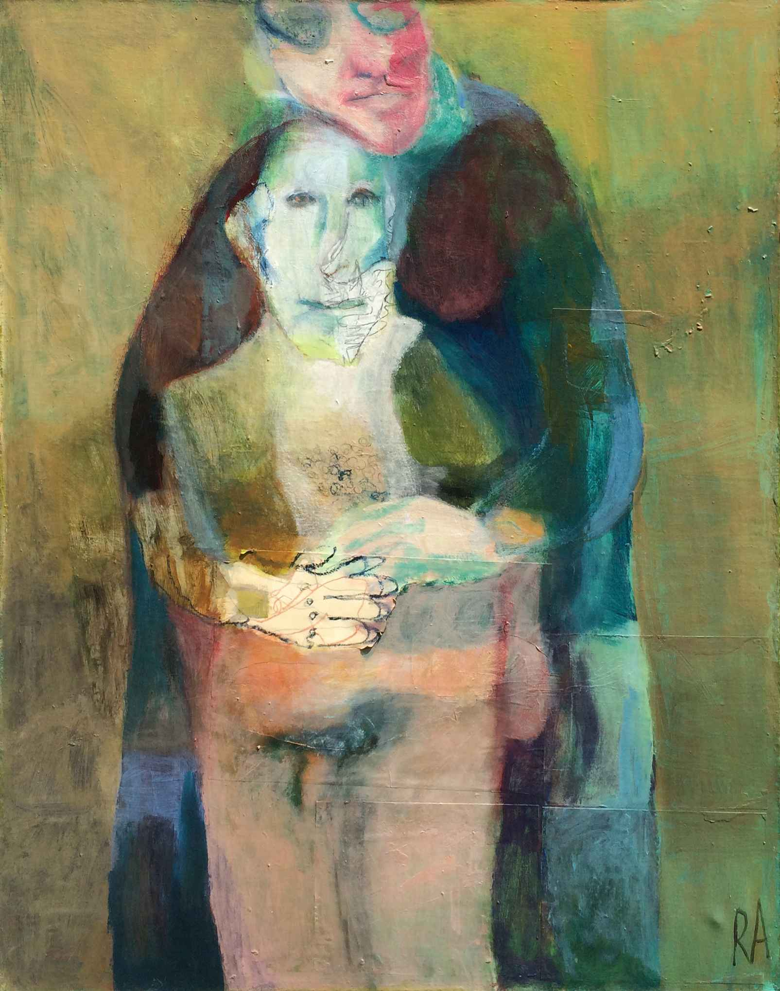 The Couple by  Rose Abrahamson - Masterpiece Online