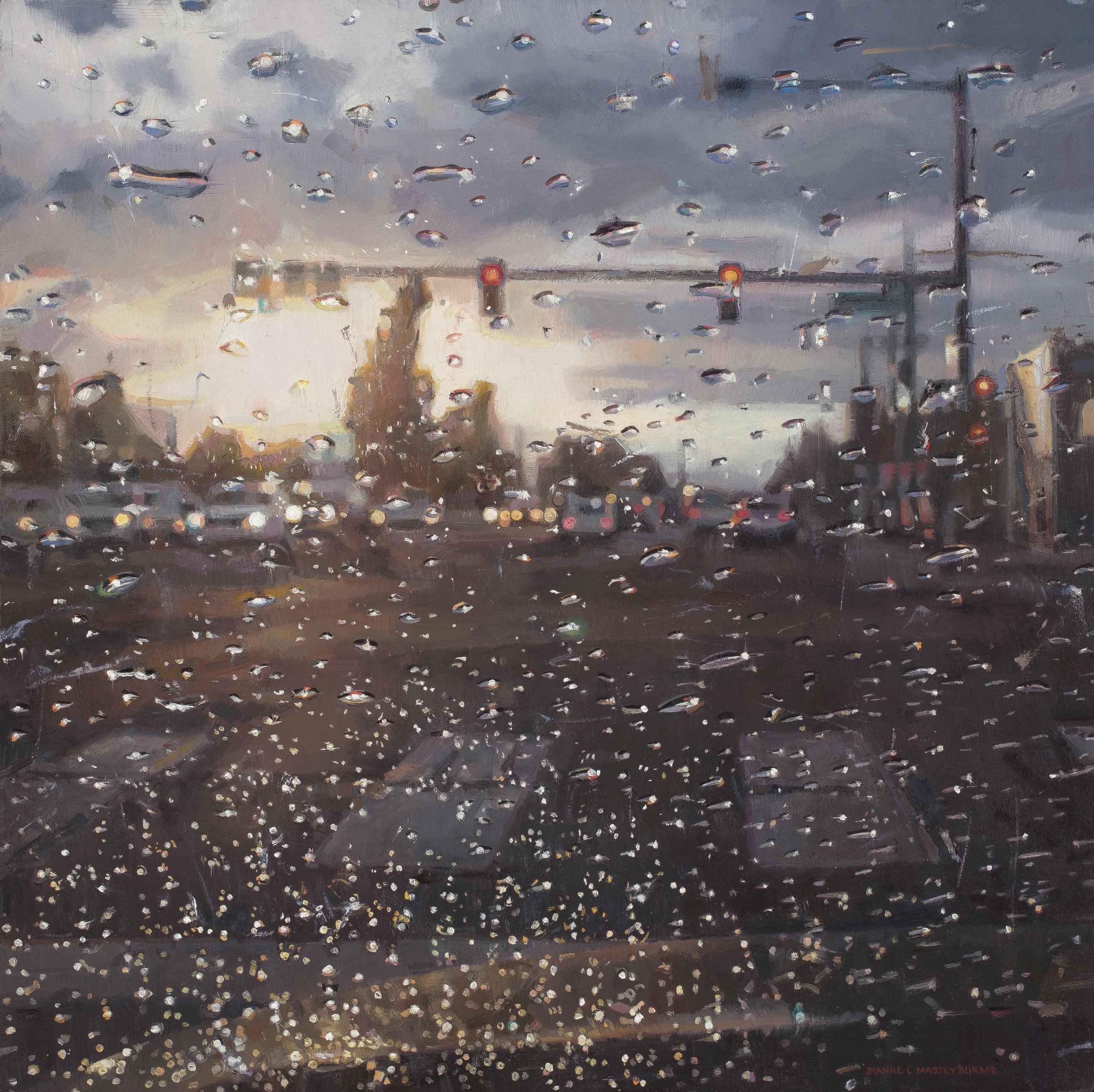 Rain on Windshield: M... by  Dianne Massey Dunbar - Masterpiece Online