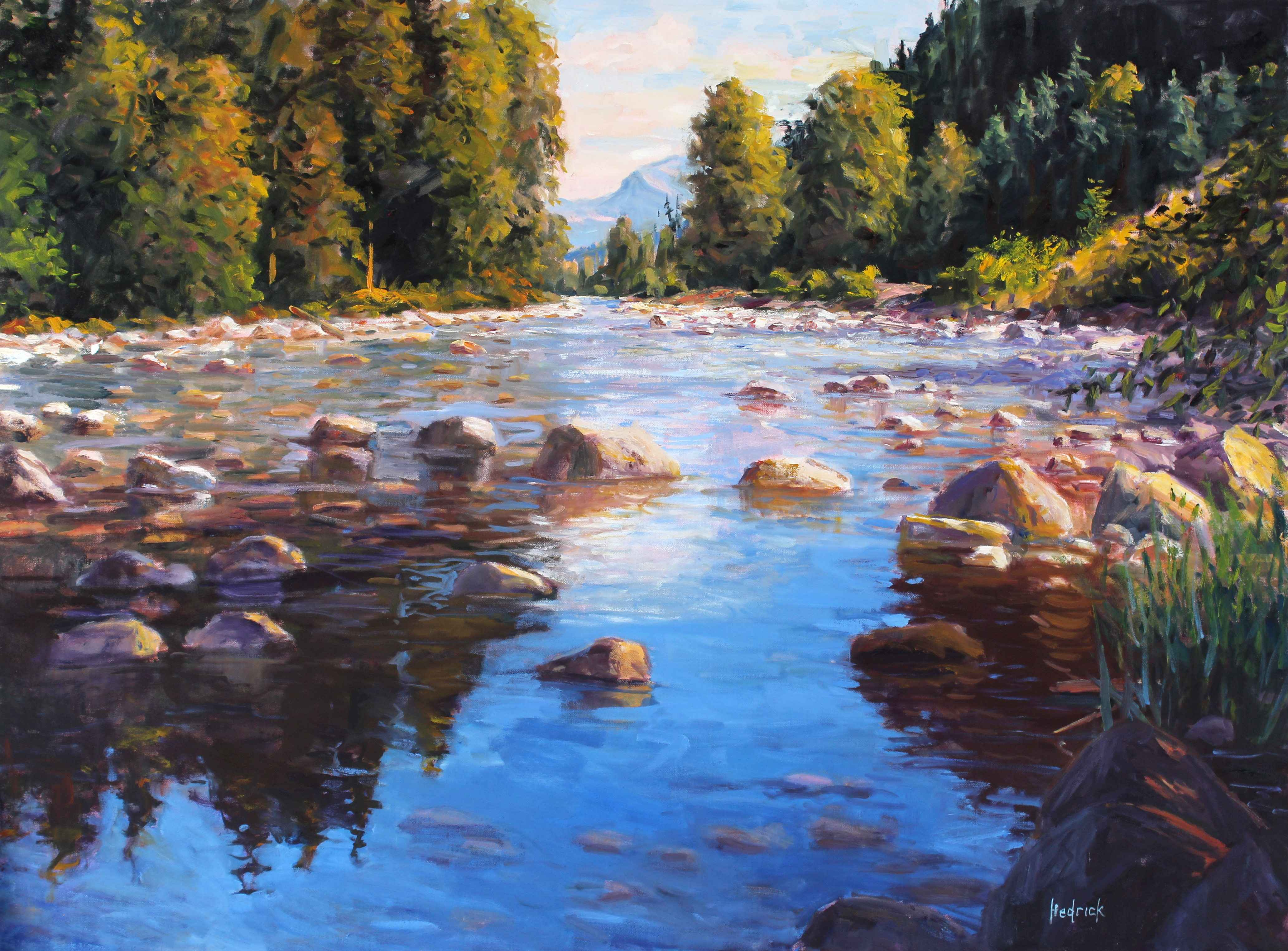 Late Summer Stream represented  by  Ron Hedrick