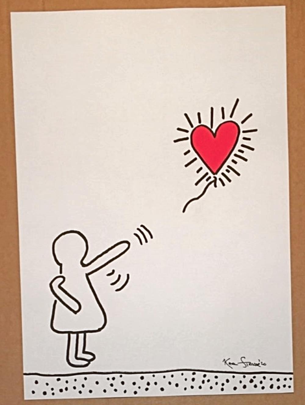 Banksy on Haring by  Karl Striker - Masterpiece Online
