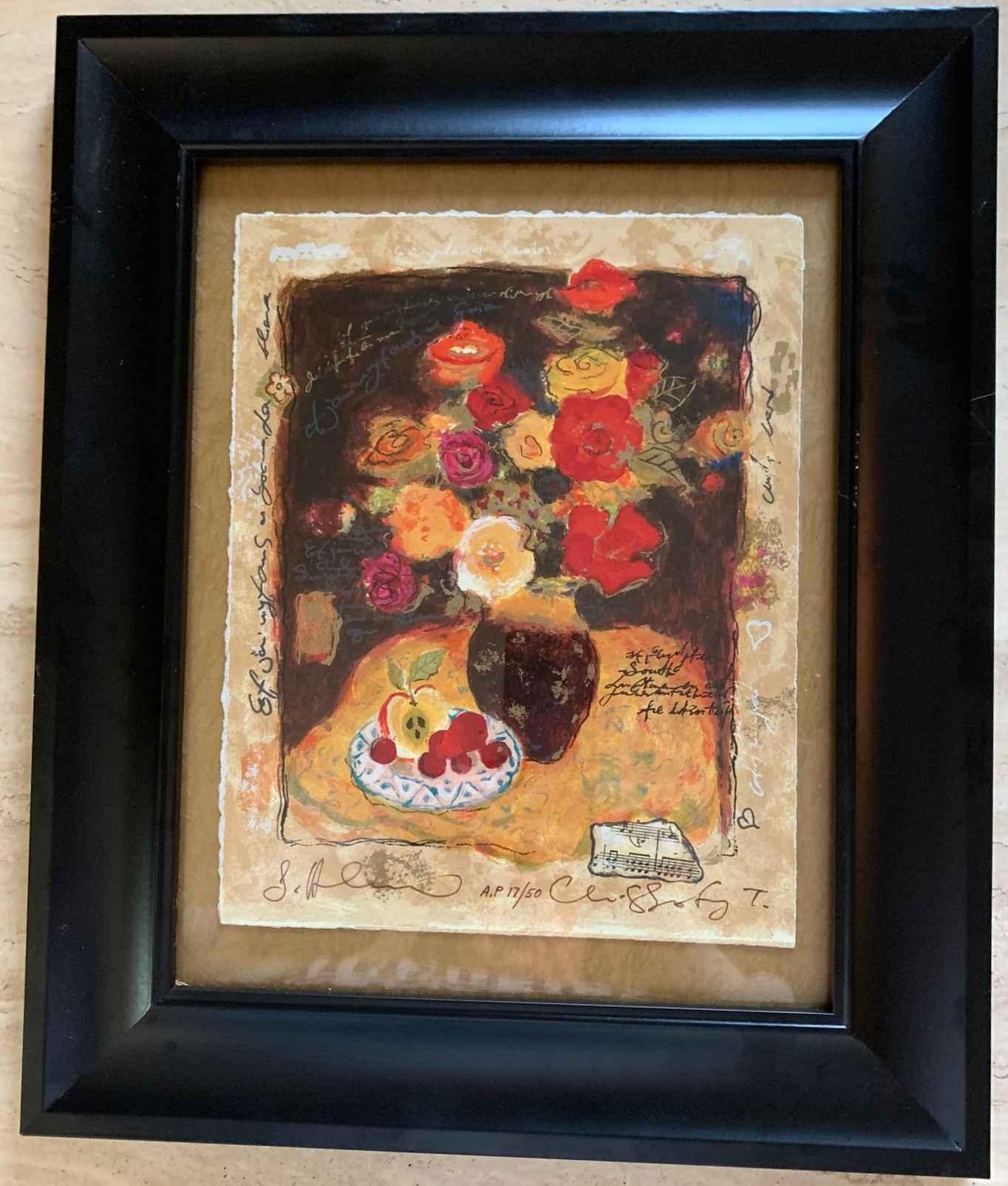 Colorful Anemonies by  Alexander Wissotzky - Masterpiece Online