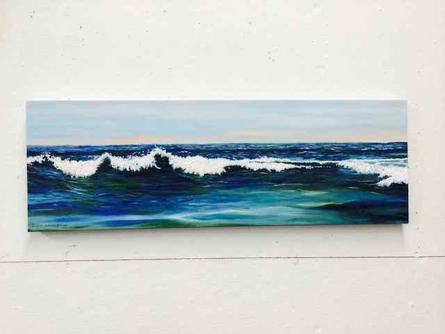 Wave by  Rosalie Ripaldi Shane - Masterpiece Online