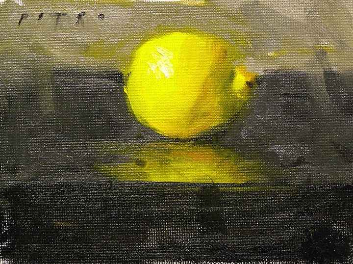 Lemon I by  Julie Petro - Masterpiece Online