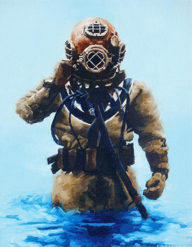 Wading In by Mr. Zachary Proctor - Masterpiece Online