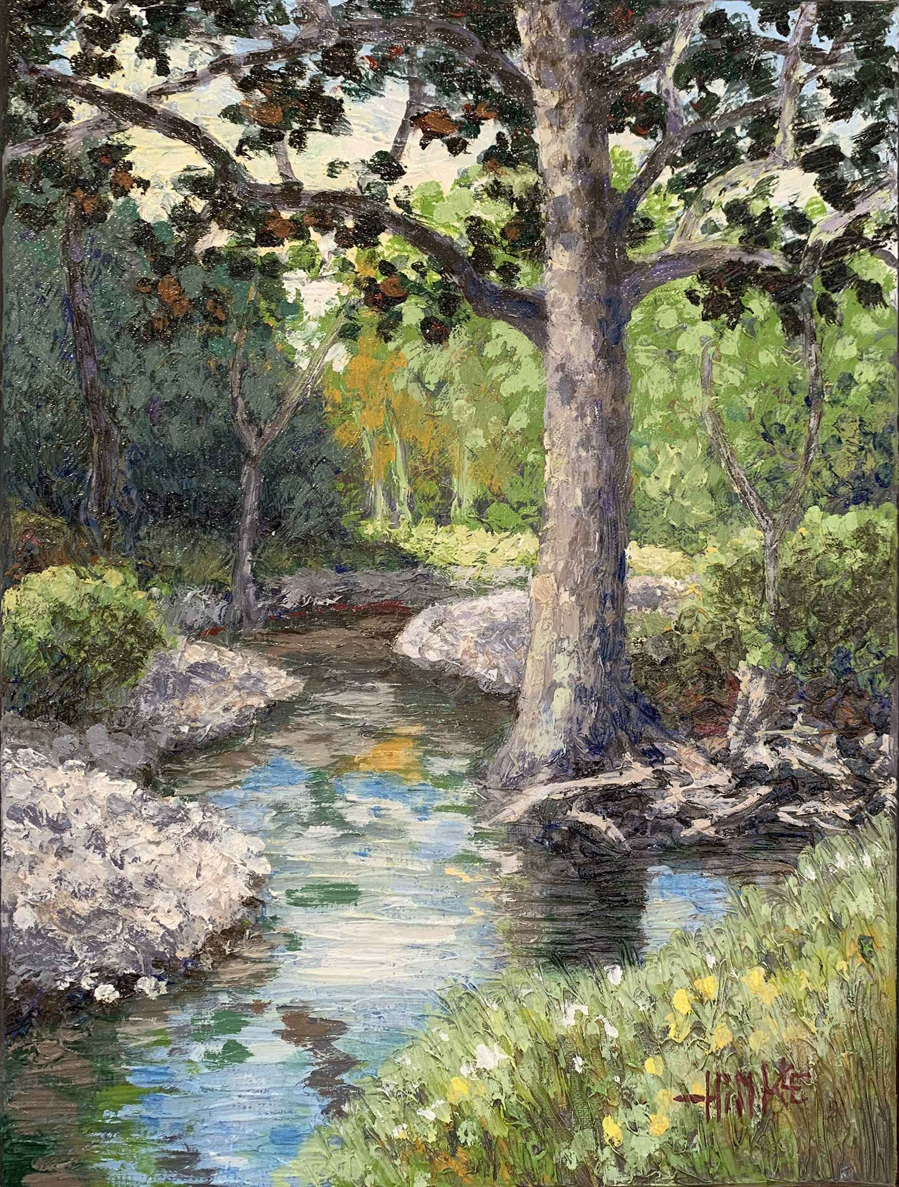 Flint Hills Creek #11 by  Brian Hinkle - Masterpiece Online
