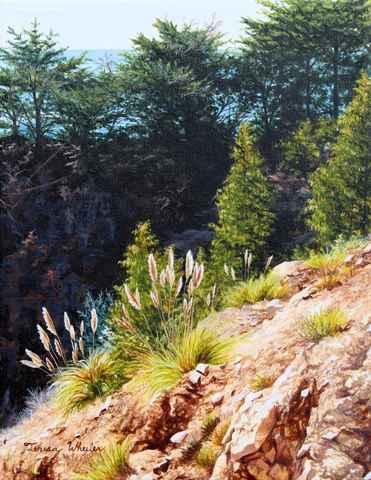 California Coast  - P... by   Teresa  Wheeler - Masterpiece Online