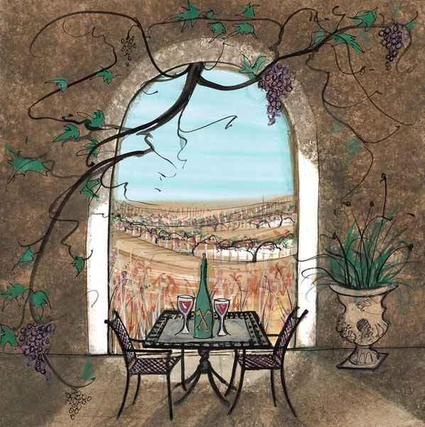 DP-Vineyard Haven (L) by  P. Buckley Moss  - Masterpiece Online
