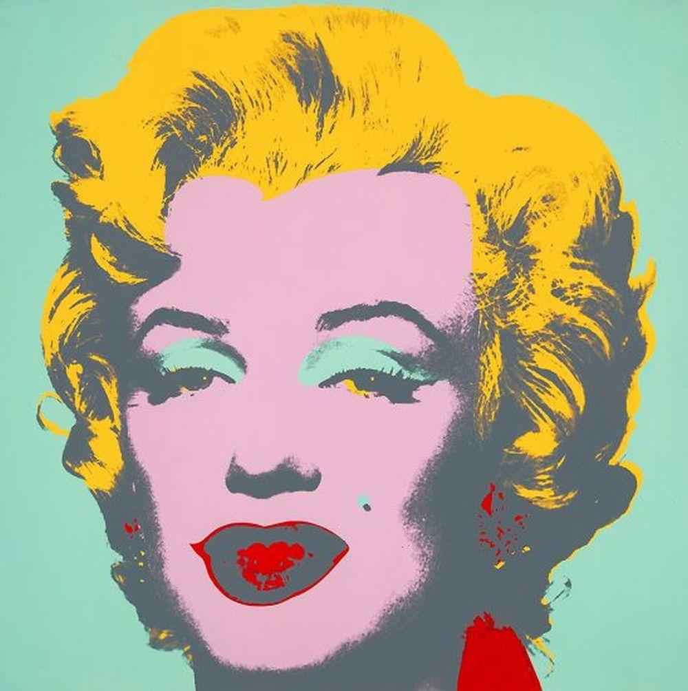 Marilyn; Green & Pink... by  Andy Warhol - Masterpiece Online