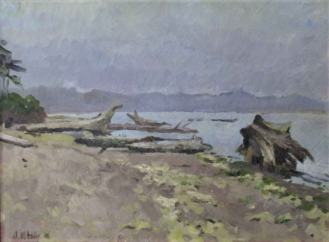 Untitled (Beach Scape) by  Oleg Ulitskiy - Masterpiece Online
