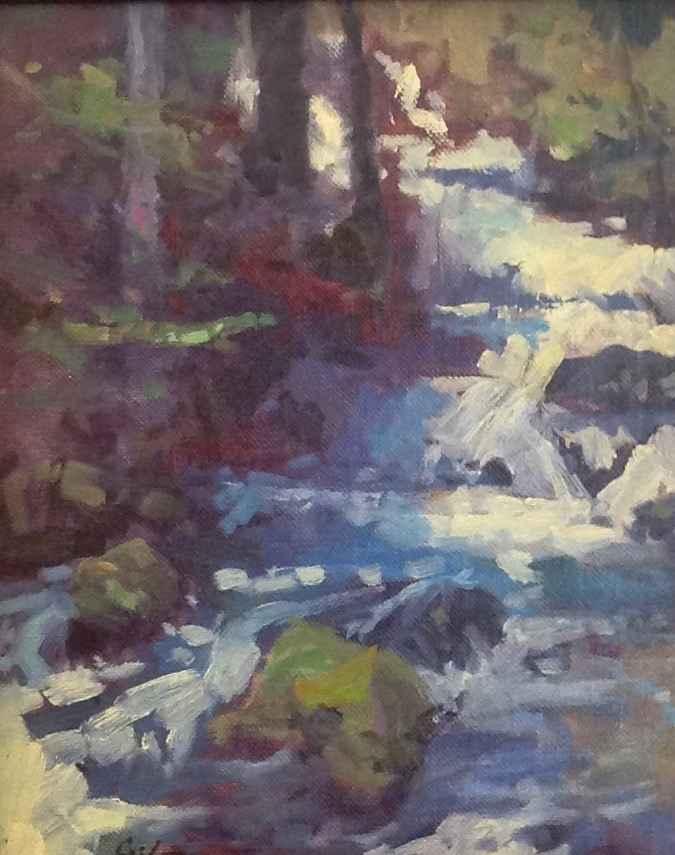 Below Sahalie Study by Mr. Gene Costanza - Masterpiece Online