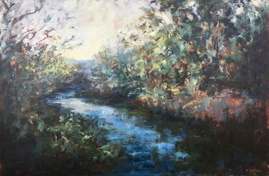 Texas Creek by Mrs Judy Gelfert - Masterpiece Online