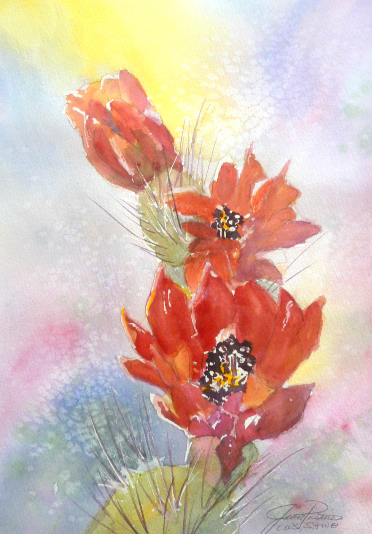 PRICKLY BLOSSOMS by  Jean Pastore - Masterpiece Online