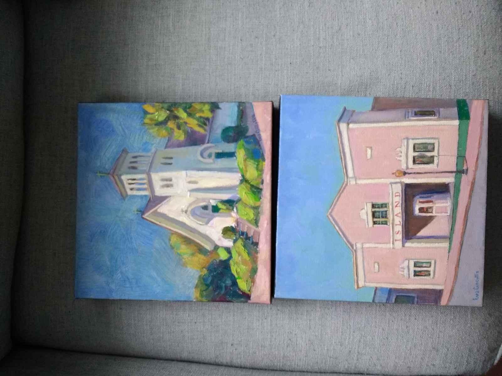 Church - Edgartown by  Eva Cincotta - Masterpiece Online
