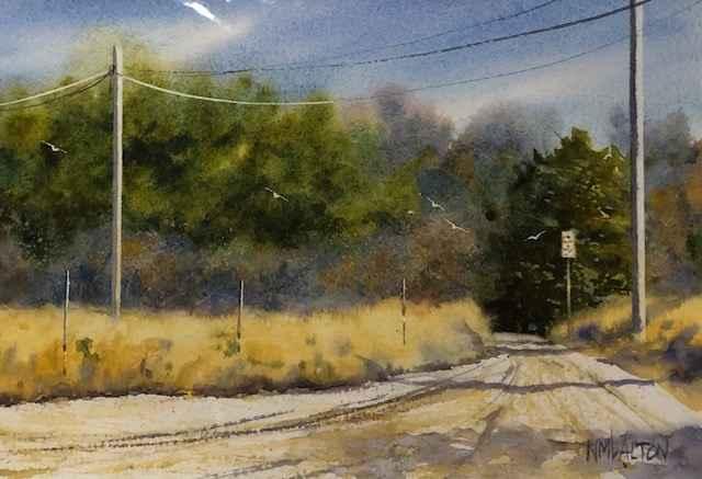 The Side Road by  Nancy Motley Walton - Masterpiece Online