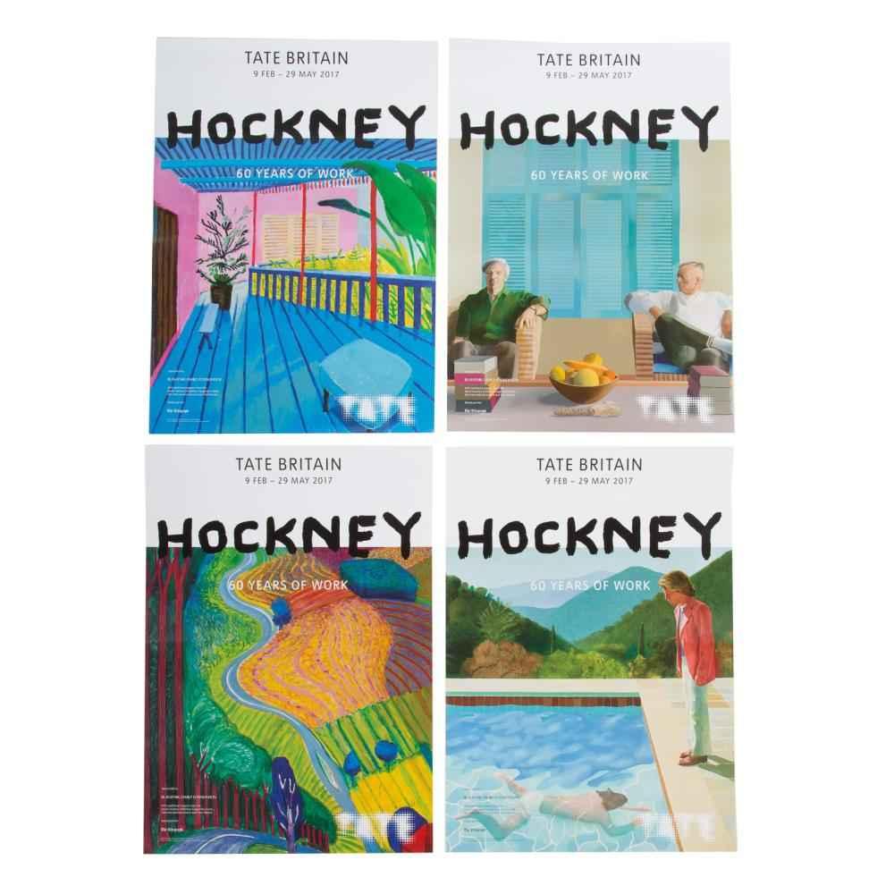 Hockney Retrospective... by  David Hockney - Masterpiece Online