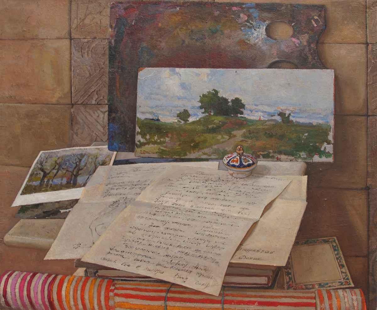 Tribute to Piotr Fomin by  Daud Akhriev - Masterpiece Online