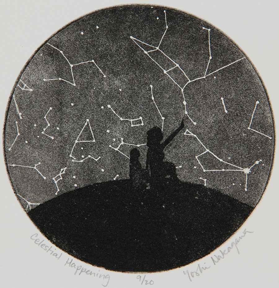 Celestial Happening by  Yoshi Nakagawa - Masterpiece Online