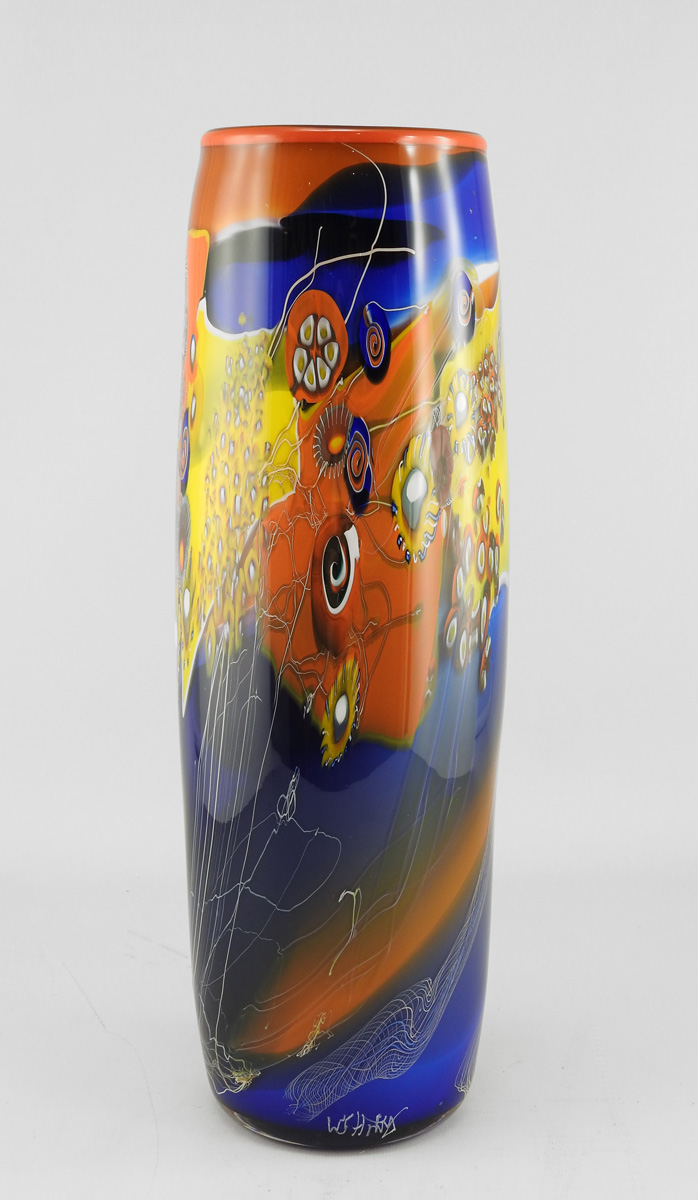 Colorfield Vase/Tall by  Wes Hunting - Masterpiece Online