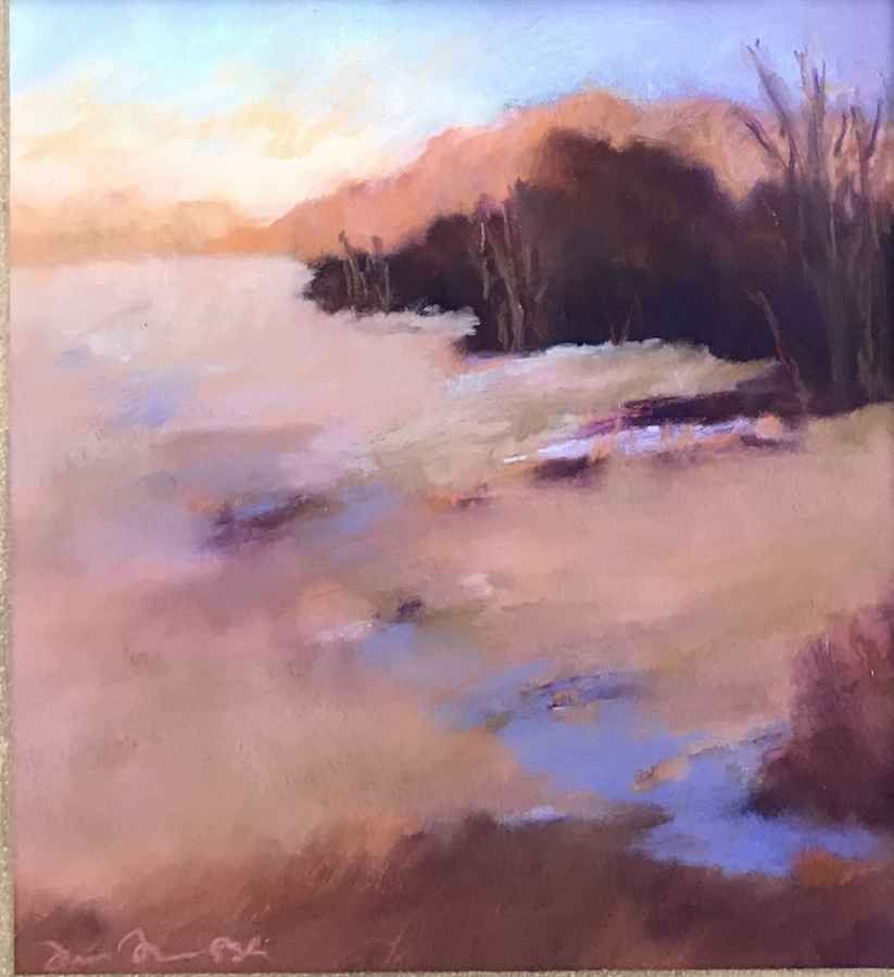 View from Hill by  Julie Friedman - Masterpiece Online