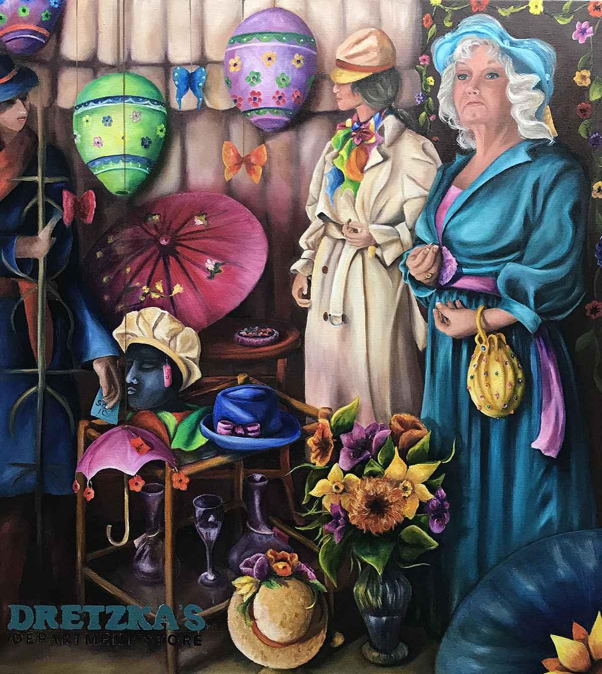 Window Dressing: Dret... by  Colleen Kassner - Masterpiece Online