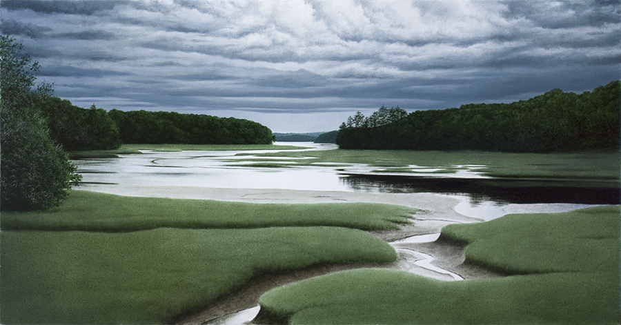 Low Tide by  Alexander Volkov - Masterpiece Online