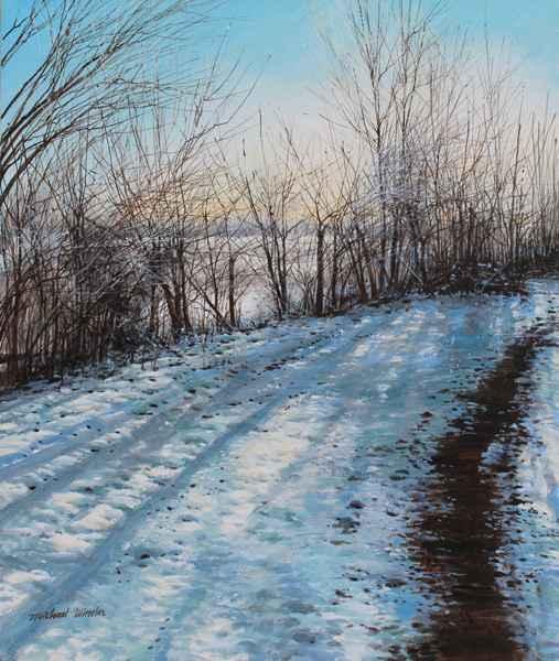 Light Snow - Sunrise by  Michael Wheeler - Masterpiece Online