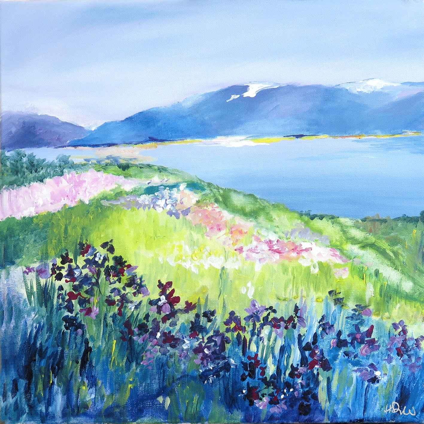 Champs d'Iris by Mme Helen JENKINSON-DREW - Masterpiece Online