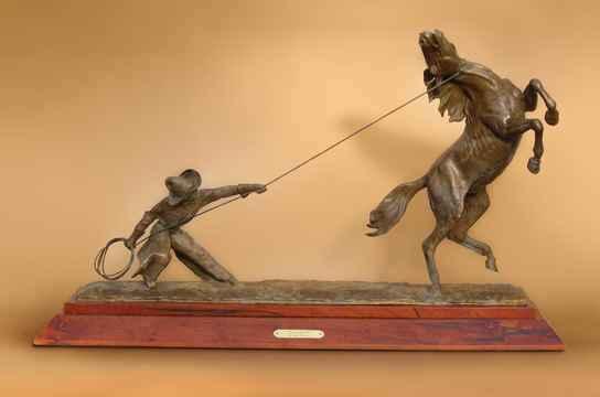 Horse Tamer by  John Bennett - Masterpiece Online