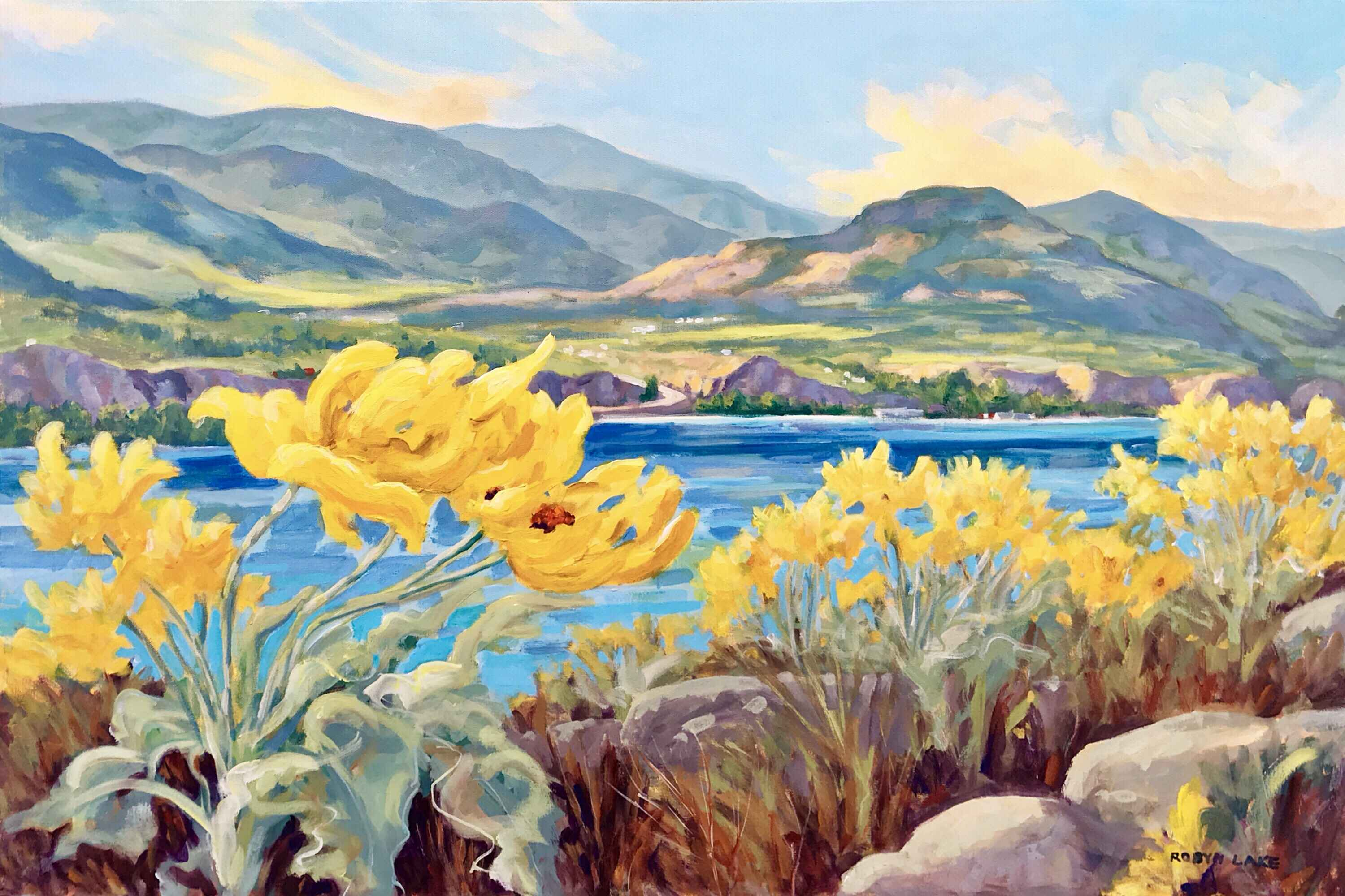 Spring on the KVR by  Robyn Lake - Masterpiece Online
