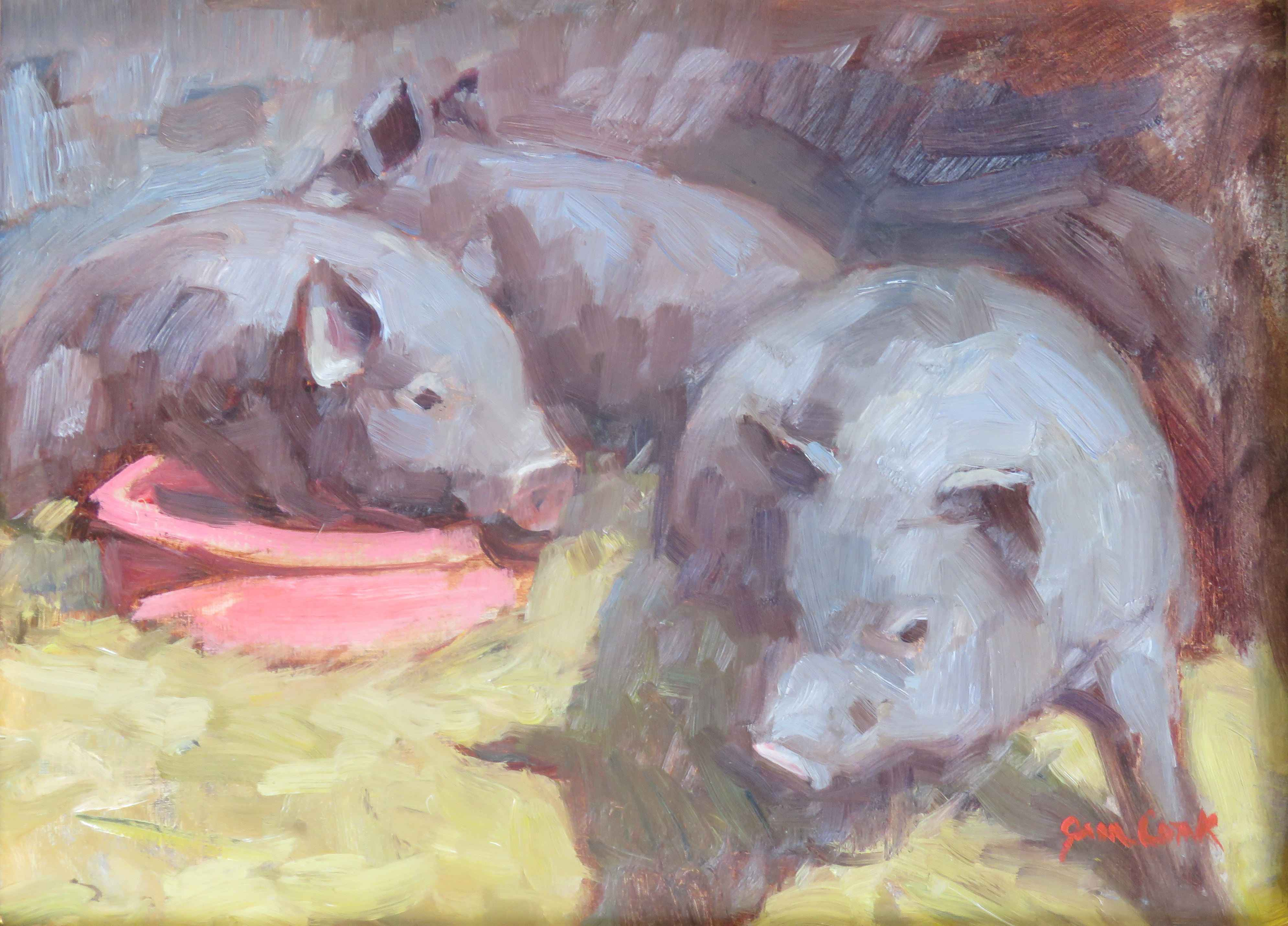 A Swine at Heart by  Jean Cook - Masterpiece Online