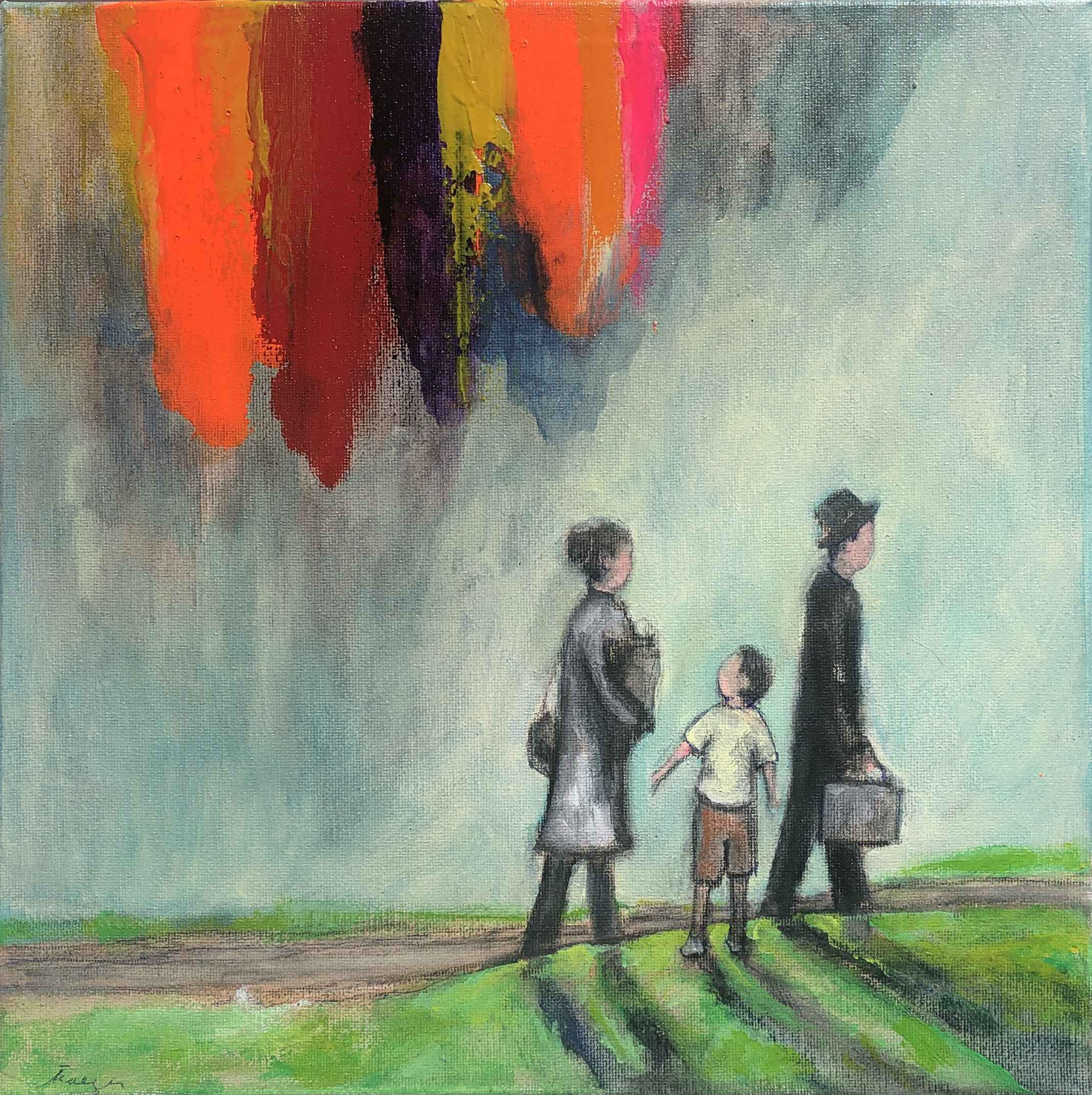 Waiting for the Bus A... by  Traeger di Pietro - Masterpiece Online