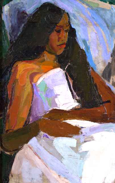 Hawaiian Girl (Limite... by  Madge Tennent (1889-1972) - Masterpiece Online