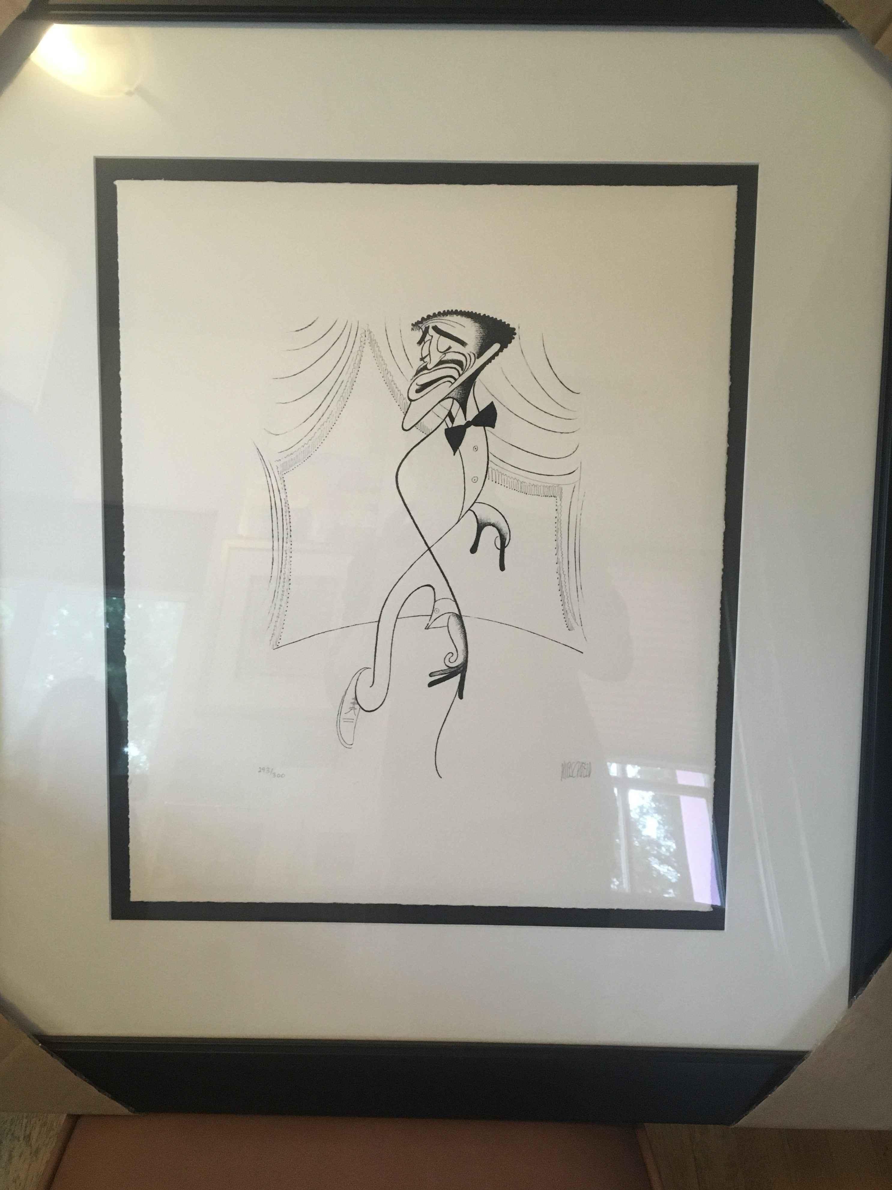 Sammy Davis Jr. on St... by  Al Hirschfeld - Masterpiece Online
